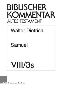 Samuel (2 Sam 8. Register, Titelei) von Dietrich,  Walter, Ego,  Beate, Hartenstein,  Friedhelm, Rösel,  Martin, Rüterswörden,  Udo, Schipper,  Bernd U