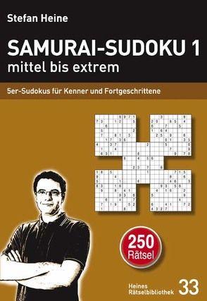 Samurai-Sudoku 1 mittel bis extrem von Heine,  Stefan