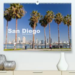 San Diego (Premium, hochwertiger DIN A2 Wandkalender 2021, Kunstdruck in Hochglanz) von Schickert,  Peter