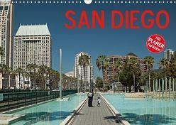 San Diego (Wandkalender 2018 DIN A3 quer) von Hallweger,  Christian