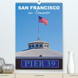 SAN FRANCISCO im Sommer (Premium, hochwertiger DIN A2 Wandkalender 2021, Kunstdruck in Hochglanz) von Viola,  Melanie