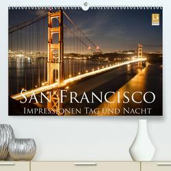 San Francisco Impressionen Tag und Nacht (Premium, hochwertiger DIN A2 Wandkalender 2021, Kunstdruck in Hochglanz) von Marufke,  Thomas