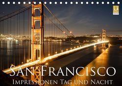 San Francisco Impressionen Tag und Nacht (Tischkalender 2019 DIN A5 quer) von Marufke,  Thomas