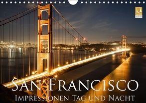 San Francisco Impressionen Tag und Nacht (Wandkalender 2018 DIN A4 quer) von Marufke,  Thomas