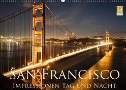 San Francisco Impressionen Tag und Nacht (Wandkalender 2019 DIN A2 quer) von Marufke,  Thomas