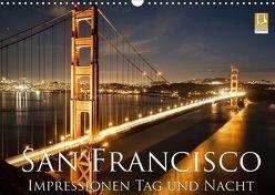 San Francisco Impressionen Tag und Nacht (Wandkalender 2019 DIN A3 quer) von Marufke,  Thomas