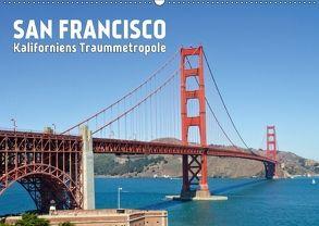 SAN FRANCISCO Kaliforniens TraummetropoleCH-Version (Wandkalender 2018 DIN A2 quer) von Viola,  Melanie