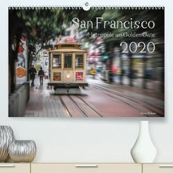 San Francisco Metropole am Golden Gate (Premium, hochwertiger DIN A2 Wandkalender 2020, Kunstdruck in Hochglanz) von Rohwer,  Klaus
