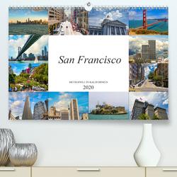 San Francisco Metropole in Kalifornien (Premium, hochwertiger DIN A2 Wandkalender 2020, Kunstdruck in Hochglanz) von Meutzner,  Dirk