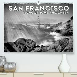SAN FRANCISCO Monochrome Ansichten (Premium, hochwertiger DIN A2 Wandkalender 2020, Kunstdruck in Hochglanz) von Viola,  Melanie