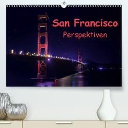 San Francisco PerspektivenCH-Version (Premium, hochwertiger DIN A2 Wandkalender 2021, Kunstdruck in Hochglanz) von Berlin, Schoen,  Andreas