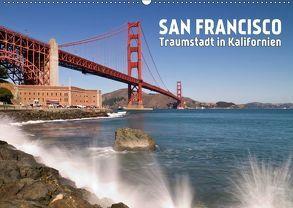 San Francisco – Traumstadt in Kalifornien (Wandkalender 2018 DIN A2 quer) von Viola,  Melanie