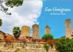 San Gimignano, die Stadt der Türme (Wandkalender 2021 DIN A2 quer) von Müller,  Christian