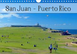 San Juan – Puerto Rico 2020 (Wandkalender 2020 DIN A4 quer) von Gerken,  Jochen