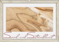 Sand- und Strandkunst (Wandkalender 2019 DIN A2 quer) von Gödecke,  Dieter