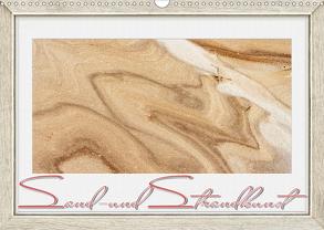 Sand- und Strandkunst (Wandkalender 2020 DIN A3 quer) von Gödecke,  Dieter