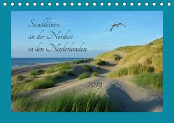 Sanddünen an der Nordsee in den Niederlanden (Tischkalender 2019 DIN A5 quer) von Evans,  Claudia