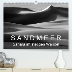 Sandmeer – Sahara im stetigen Wandel (Premium, hochwertiger DIN A2 Wandkalender 2020, Kunstdruck in Hochglanz) von Zinn,  Gerhard