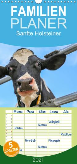 Sanfte Holsteiner – Familienplaner hoch (Wandkalender 2021 , 21 cm x 45 cm, hoch) von JF Führer,  Jana