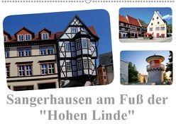 """Sangerhausen am Fuße der """"Hohen Linde"""" (Wandkalender 2018 DIN A2 quer) von Krone,  Elke"""