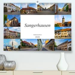 Sangerhausen Impressionen (Premium, hochwertiger DIN A2 Wandkalender 2020, Kunstdruck in Hochglanz) von Meutzner,  Dirk