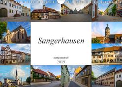 Sangerhausen Impressionen (Wandkalender 2019 DIN A4 quer) von Meutzner,  Dirk