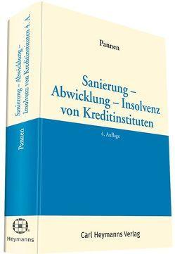 Sanierung – Abwicklung – Insolvenz von Kreditinstituten von Pannen,  Klaus
