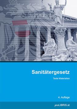 Sanitätergesetz von proLIBRIS VerlagsgesmbH