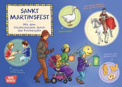 Sankt Martinsfest. Kamishibai Bildkartenset. von Hebert,  Esther, Penava,  Mile, Rensmann,  Gesa