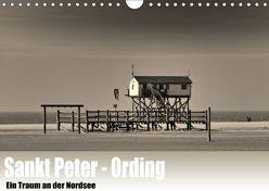 Sankt Peter-Ording. Ein Traum an der Nordsee (Wandkalender 2018 DIN A4 quer) von Wulf,  Guido