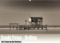 Sankt Peter-Ording. Ein Traum an der Nordsee (Wandkalender 2019 DIN A2 quer) von Wulf,  Guido