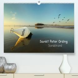 Sankt Peter Ording Sandstrand (Premium, hochwertiger DIN A2 Wandkalender 2020, Kunstdruck in Hochglanz) von Sturm,  Jenny