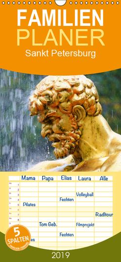 Sankt Petersburg – Familienplaner hoch (Wandkalender 2019 , 21 cm x 45 cm, hoch) von (Schweiz),  Huttwil, Schmid,  Samuel