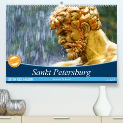 Sankt Petersburg (Premium, hochwertiger DIN A2 Wandkalender 2020, Kunstdruck in Hochglanz) von (Schweiz),  Huttwil, Schmid,  Samuel