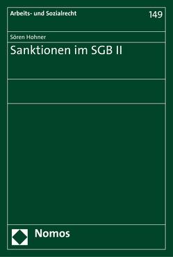 Sanktionen im SGB II von Hohner,  Sören