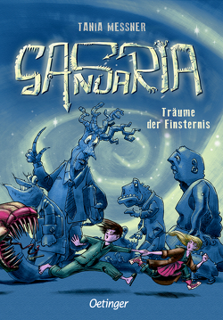 Sansaria 1. Träume der Finsternis von Blankenhagen,  Jürgen V., Messner,  Tania