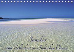Sansibar, eine Schönheit im Indischen Ozean (Tischkalender 2019 DIN A5 quer) von Schroeder,  Thomas