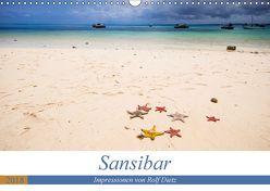 Sansibar – Impressionen von Rolf Dietz (Wandkalender 2018 DIN A3 quer) von Dietz,  Rolf