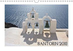 Santorin 2018 (Wandkalender 2018 DIN A4 quer) von Pustolla,  Astrid
