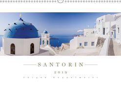Santorin 2019 – Panoramakalender (Wandkalender 2019 DIN A3 quer) von Kappelmeier,  Jürgen