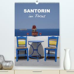 Santorin im Focus (Premium, hochwertiger DIN A2 Wandkalender 2020, Kunstdruck in Hochglanz) von Huschka,  Klaus-Peter