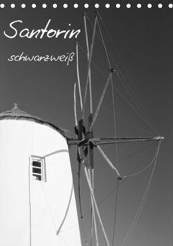 Santorin schwarzweiß (Tischkalender 2019 DIN A5 hoch) von Reuke,  Sabine