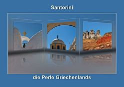 Santorini – die Perle Griechenlands (Posterbuch DIN A3 quer) von Hobscheidt,  Ernst