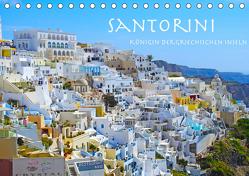 Santorini Königin der griechischen Inseln (Tischkalender 2020 DIN A5 quer) von Sommer,  Melanie