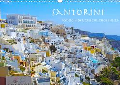 Santorini Königin der griechischen Inseln (Wandkalender 2020 DIN A3 quer) von Sommer,  Melanie