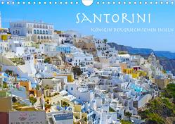 Santorini Königin der griechischen Inseln (Wandkalender 2020 DIN A4 quer) von Sommer,  Melanie