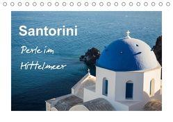 Santorini Perle im Mittelmeer (Tischkalender 2018 DIN A5 quer) von Reuke,  Sabine