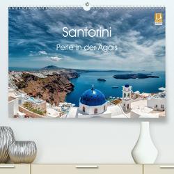 Santorini – Perle in der Ägais (Premium, hochwertiger DIN A2 Wandkalender 2020, Kunstdruck in Hochglanz) von Photography,  Hessbeck
