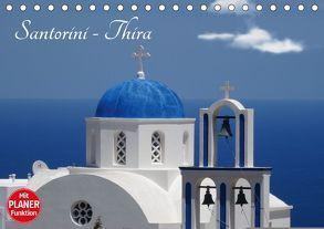 Santorini – Thira (Tischkalender 2018 DIN A5 quer) von Huschka,  Klaus-Peter
