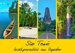 São Tomé – Inselparadies am Äquator (Wandkalender 2021 DIN A2 quer) von Plastron Pictures,  Lost
